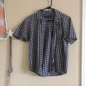 Thrift-store find button down